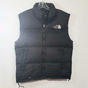 The North Vest 700 Down Puffer Vest Zip Front